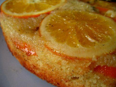 портокалов сладкиш с бадеми