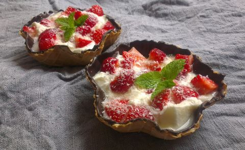 десерт я ягоди