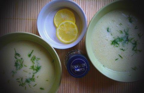 крем супа с картофи и тиквички