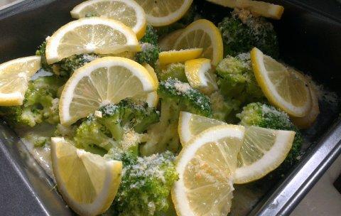 броколи на фурна с пармезан