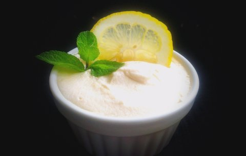 крем брюле с лимон и грейпфрут