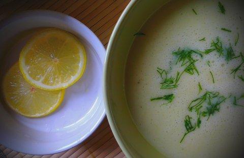 крем супа от тиквички и картофи