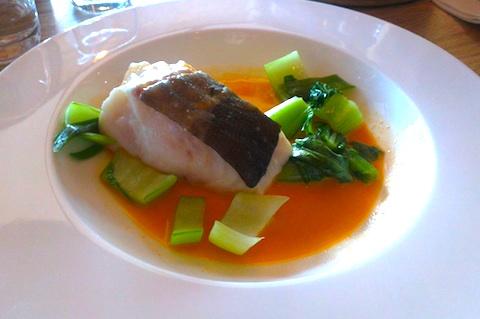 fish in dish
