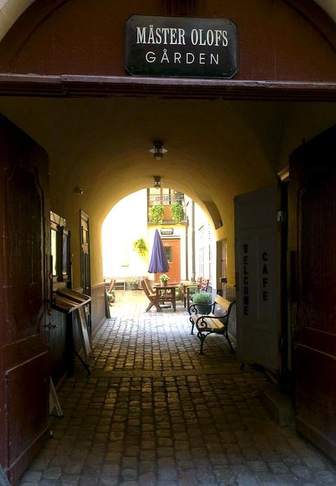 stockholm old town cafe