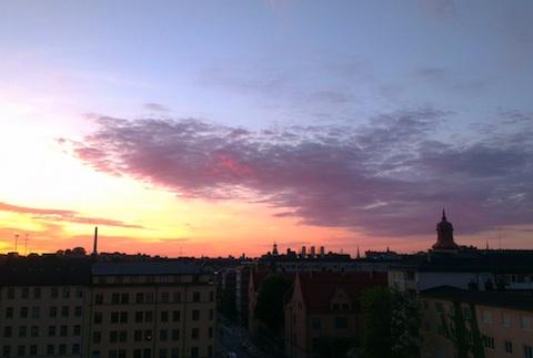 залез в Стокхолм