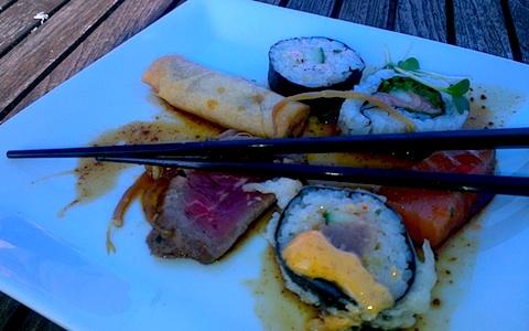 sushi light dinner