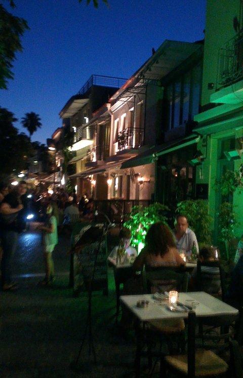 Атина улици