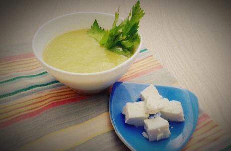 крем супа от карфиол и броколи с къри
