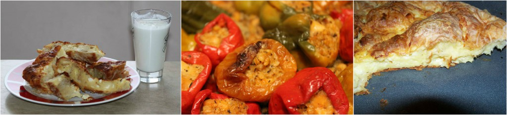 banitsa and peppers